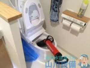 芦屋市浜芦屋町にてトイレは詰まるわ他の排水も詰まるわでてんやわんや(笑)