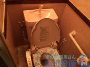 大阪市淀川区西宮原よりトイレ水漏れ修理依頼はトイレタンクの上から水がチョロチョロ