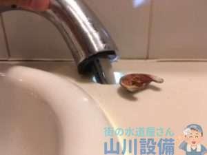 大阪市都島区東野田よりトイレの手洗い水栓が破損?修理依頼