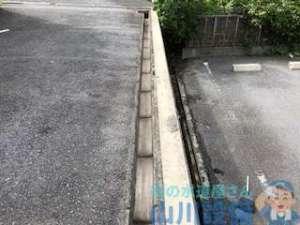 豊中市東泉丘の排水管の定期清掃はほぼほぼ排水溝とガレージの草むしりで夕方まで(苦笑)