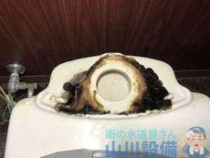 伊丹市山田のトイレ床からの水漏れはパッキンとウォシュレットの交換対応です。
