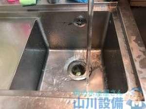 厨房排水つまり 大阪市生野区巽北