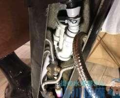 美容室のシャンプー台排水トラップ新設の追加依頼
