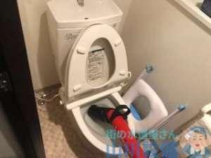 トイレつまり修理 滋賀県草津市大路