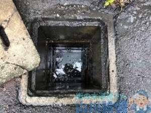 リピーター様が排水管の詰まりで高圧洗浄機を使った洗管作業依頼