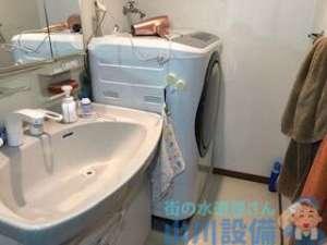 大阪府大阪市天王寺区上汐の洗濯機の排水溝が詰まったら山川設備にお任せ下さい。