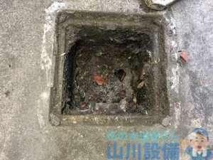 八尾市南亀井町で排水桝の清掃は山川設備にお任せ下さい。