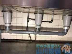 御所市東松本の排水管の接続は山川設備にお任せ下さい。