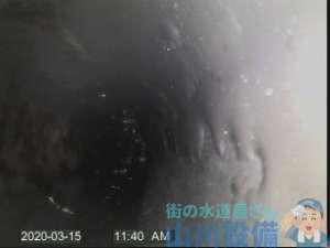 大阪市生野区中川で管内カメラで確認しながら洗管作業するなら山川設備にお任せ下さい。
