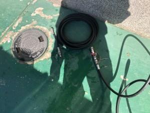 八尾市若林町で配管クリーニングは山川設備にお任せ下さい。
