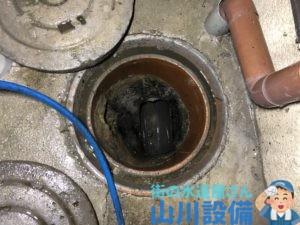 大阪市生野区田島で排水桝の洗浄清掃は山川設備にお任せ下さい。