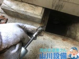 大阪市東住吉区駒川でクロススピア・ヘッドでの通管作業は山川設備にお任せ下さい。