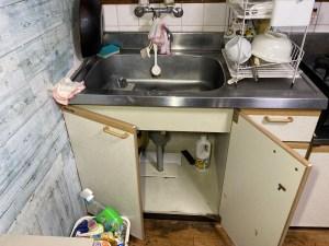 枚方市須山町でキッチンの排水詰まりは山川設備にお任せ下さい。