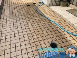 東大阪市川田で排水詰まり抜きは山川設備にお任せ下さい。
