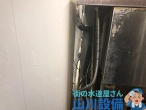 飲食店のキッチン洗い場 蛇口が水漏れ パッキンの交換はした