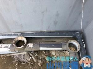 逆勾配で排水管が詰まってしまったら高圧洗浄で一時しのぎ出来る場合もあります。