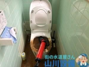 山川設備が対応すると羽曳野市、東大阪市のつまり修理にはローポンプを多用します。