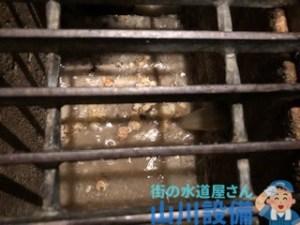 大阪府吹田市江坂町で排水溝が詰まってしまったら山川設備にお任せ下さい。