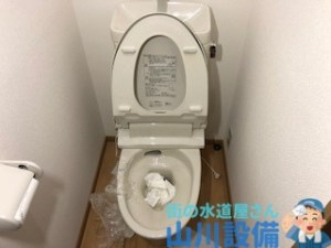 大阪府大阪市生野区生野東、東大阪市のトイレつまりは山川設備にお任せ下さい。