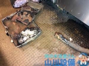 大阪府大阪市北区東天満の飲食店の水漏れは山川設備にお任せ下さい。