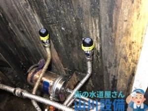 奈良県奈良市針町で厨房内の蛇口水漏れは山川設備にお任せ下さい。