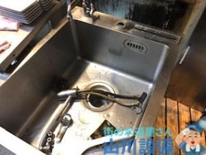 奈良県奈良市針町で混合水栓の故障修理は山川設備までご連絡下さい。