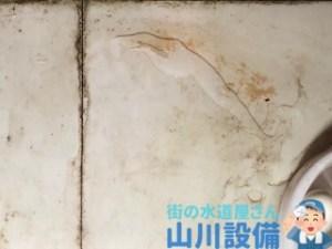 兵庫県宝塚市旭町でトイレの床に水漏れがあれば山川設備にお任せ下さい。