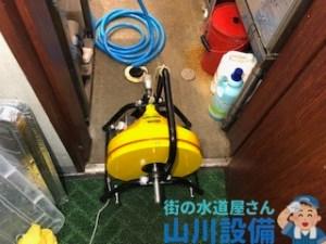 大阪府堺市中区福田でドレンクリーナーで通管作業するなら山川設備に連絡下さい。