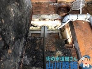 奈良県奈良市押熊町のグリストラップで高圧洗浄をするなら山川設備に連絡下さい。