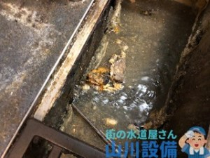 大阪府大阪市平野区瓜破の飲食店の排水桝つまりは山川設備にお任せ下さい。