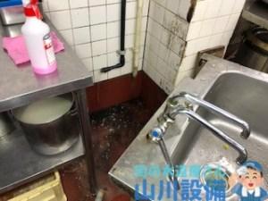 大阪府東大阪市大蓮の厨房シンクの脱着作業は山川設備にお任せ下さい。