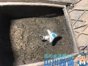 大阪府和泉市池田下町の散水栓水漏れは山川設備にお任せ下さい。
