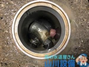 奈良県奈良市大森町で店舗内の排水管を洗管作業するなら山川設備に連絡下さい。