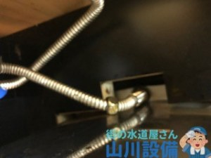 奈良県奈良市押熊町でフレキナットからの水漏れは山川設備にお任せ下さい。