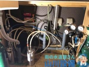 大阪府大阪市中央区道頓堀で排水つまり除去は山川設備にお任せ下さい。