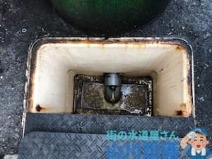 奈良県奈良市大森町の飲食店の排水つまりは山川設備にお任せ下さい。