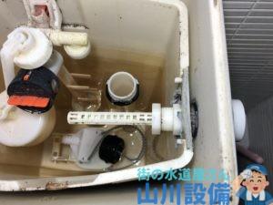 大阪市中央区道頓堀でTOTO SH670BAのレバー修理は山川設備にお任せ下さい。