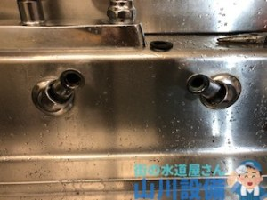 橿原市曲川町の混合水栓の解体撤去は山川設備にお任せ下さい。