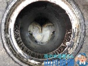 奈良市柏木町の排水トラブルは山川設備にお任せ下さい。