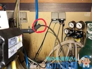 寝屋川市香里新町で配管クリーニングは山川設備にお任せ下さい。