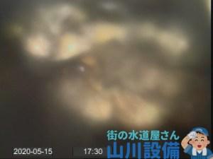 東大阪市御厨南で油脂の塊とバクテリアの塊で排水の流れが悪くなったら山川設備にお任せ下さい。