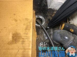 大阪市北区角田町で電動フレキシロッダーCREで通管作業するなら山川設備にお任せ下さい。