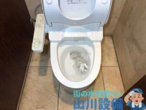 堺市南区栂でアラウーノがトイレットペーパーで詰まったら山川設備にお任せ下さい。