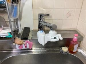 四條畷市岡山東でキッチン水栓に浄水器を取り付けるなら山川設備にお任せ下さい。