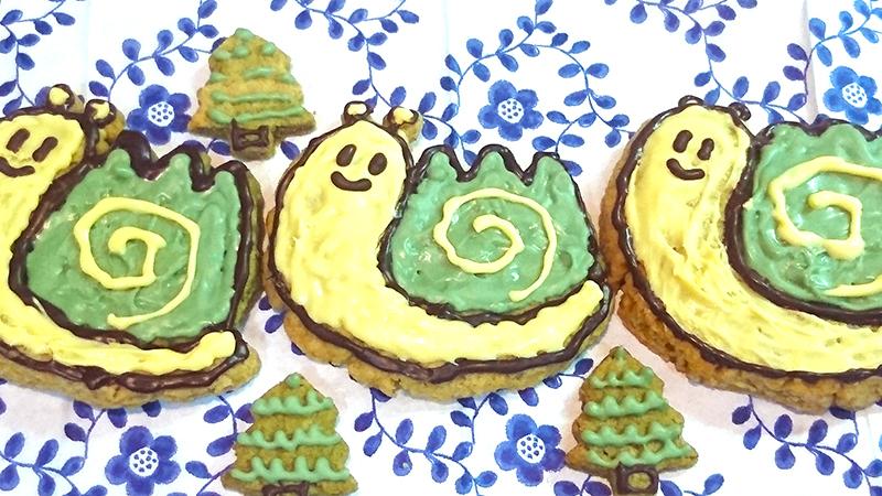 maimaicookie2 食べるのもったいない!ゆっくり山マイマイ手作りクッキー