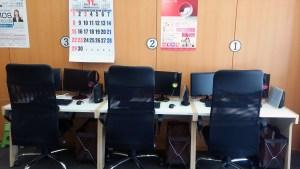 PC教室席