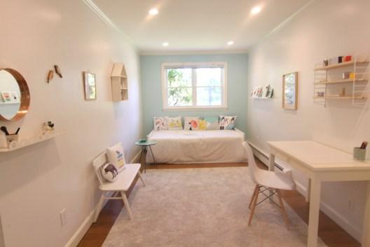 soft bright teen room