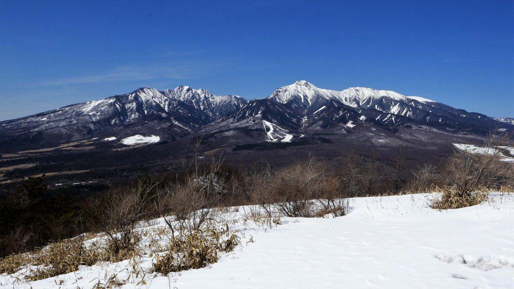 飯盛山から八ヶ岳