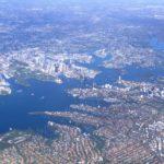 シドニー上空2