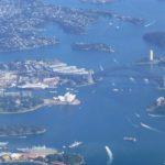 シドニー上空3
